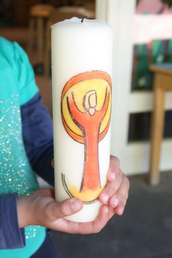 Kerze-Religion